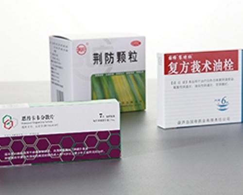 药盒包装印刷